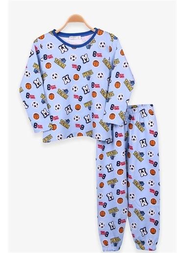 Breeze Pijama Takım Mavi